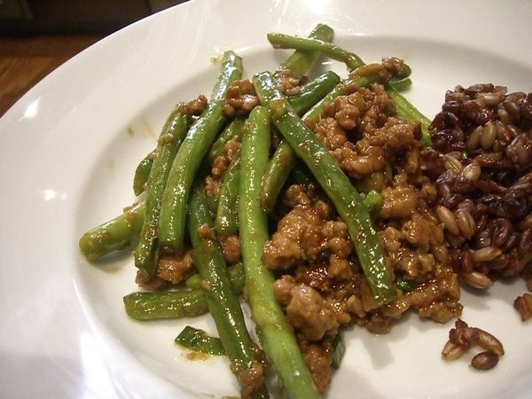 Stir-Fried Sichuan Green Beans - lizelle