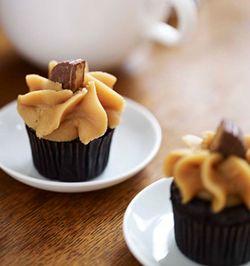 Starbucks Petites Peanut Butter Mini Cupcake
