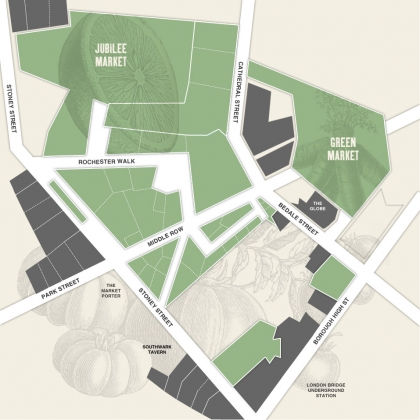 Borough Market Map-1